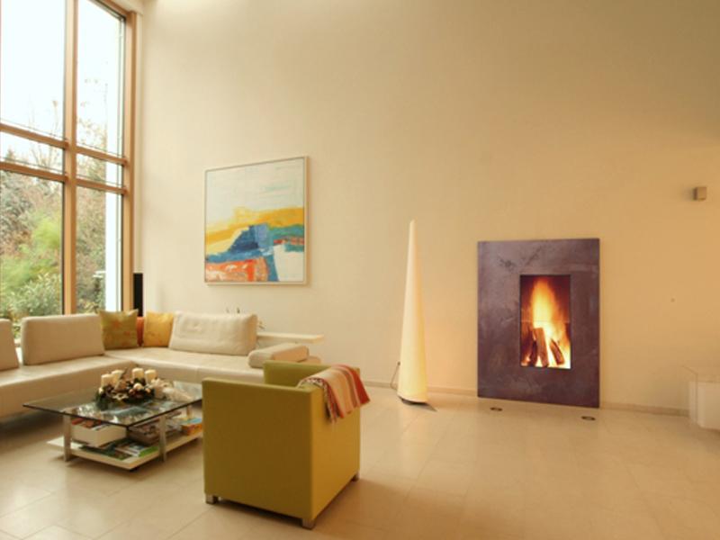 designkamin accent 7 front edelrost. Black Bedroom Furniture Sets. Home Design Ideas